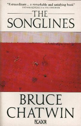 Figure 1. The Songlines by Bruce Chatwin, http://www.travelmag.com/articles/songlines-bruce-chatwin/
