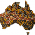 Figure 4. Seven Sisters Songline, by Josephine Mick, Pipalyatjara, 1994, http://archanth.anu.edu.au/heritage-museum-studies/songlines-western-desert